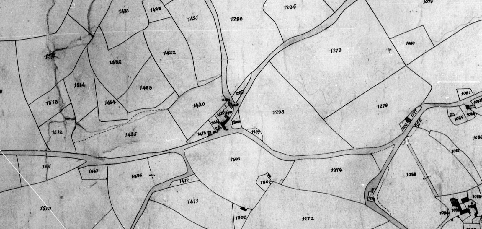 Tithe Map Broadwindsor Coles Cross